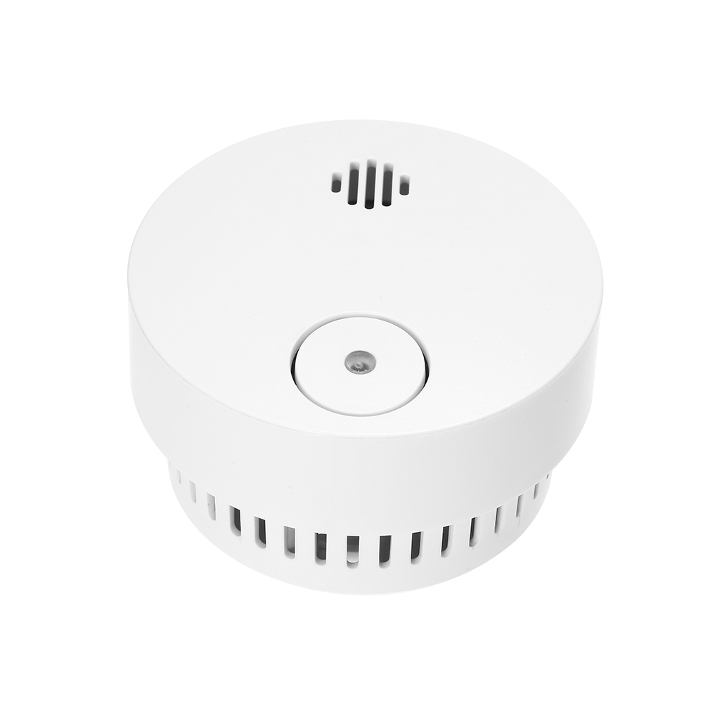 Wireless Smoke Detector Photoelectric Fire Alarm Battery Powered