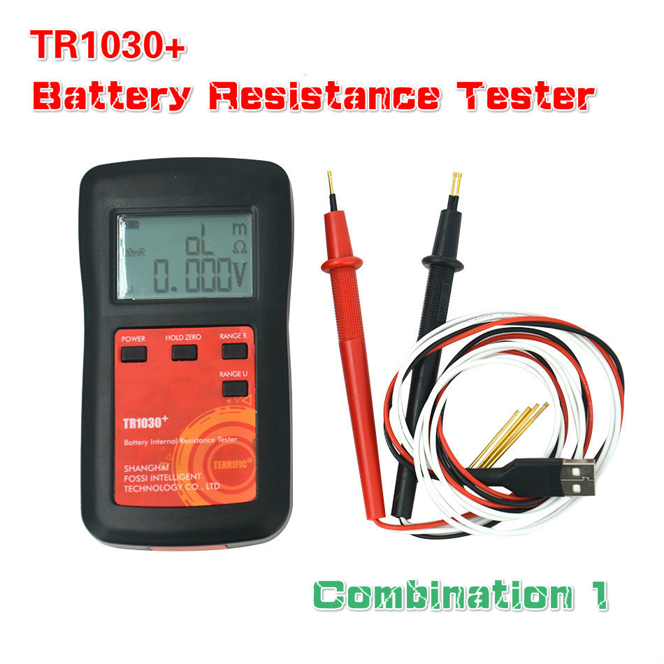 Upgrade YR1030 Lithium Battery Internal Resistance Test TR1030 Electrical DIY <font><b>18650</b></font> Nickel Hydride Button Dry Battery Tester C1 image