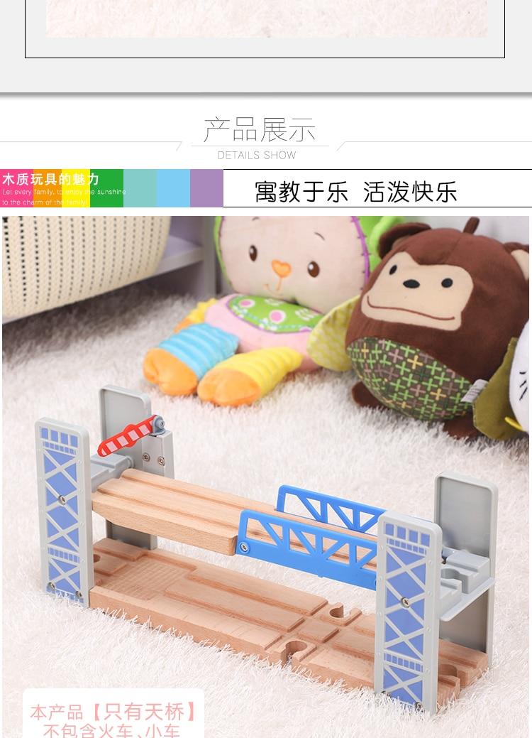 viaduto de madeira trem faixas ferroviário brinquedos