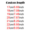 custom length