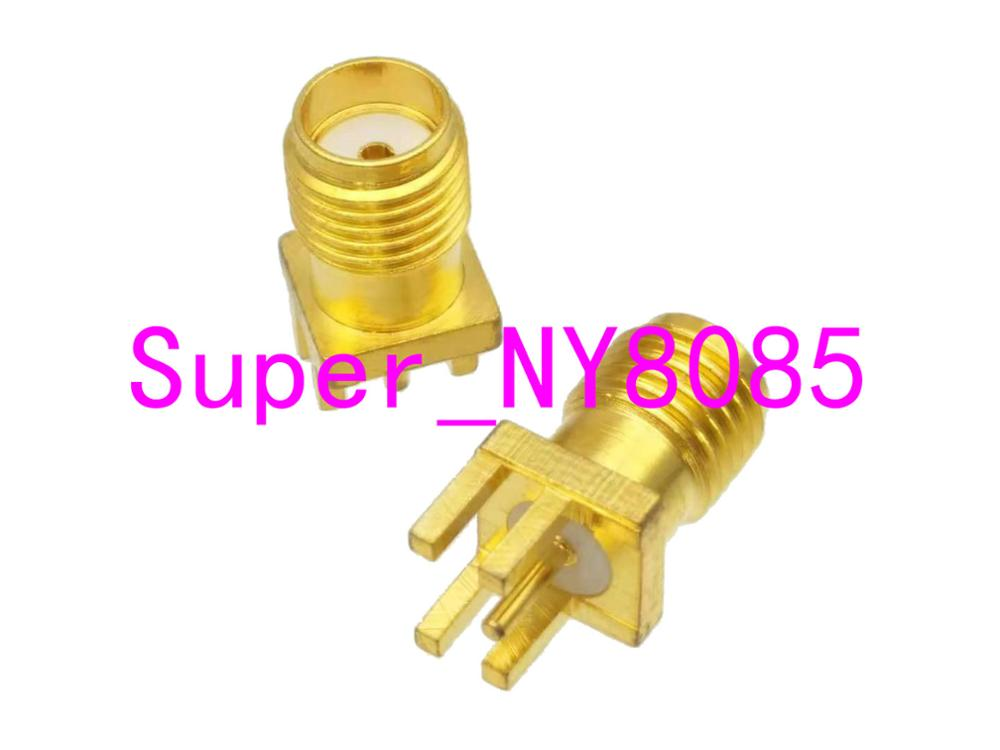 SMA Female to Female Connector RF Coaxial Adapter DT Pack of 2