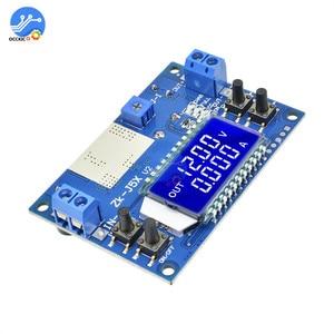 Image 4 - 5A 75W moduł ładowarki CC CV DC 6.5 36V do 1.2 32V 5A 75W napięcie zasilania przetwornica ładowania akumulatora wyświetlacz LCD z etui