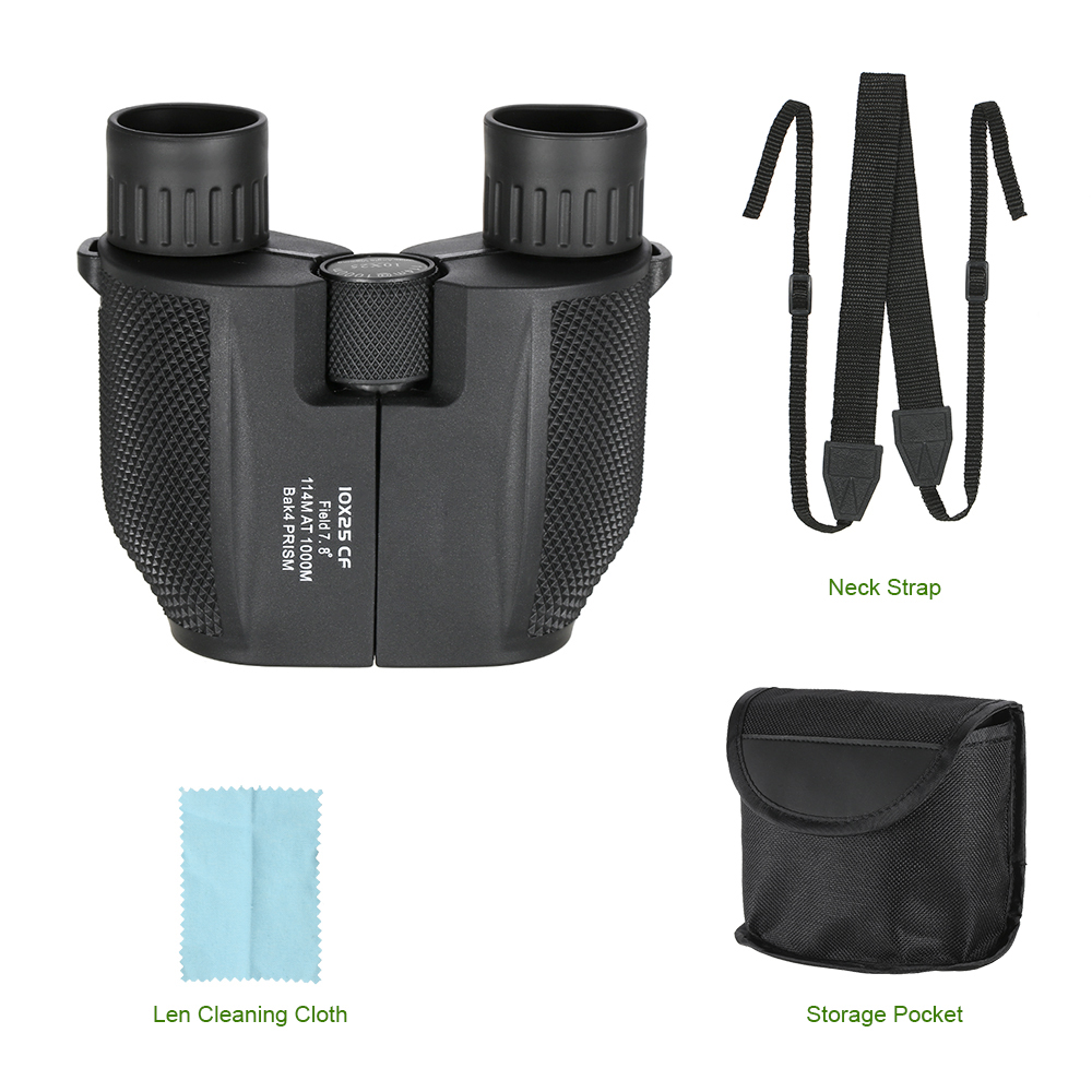 IHRtrade,Monocular/Binoculars,14:365458,Best binoculars for camping,10 x 25 survival compact high power binoculars