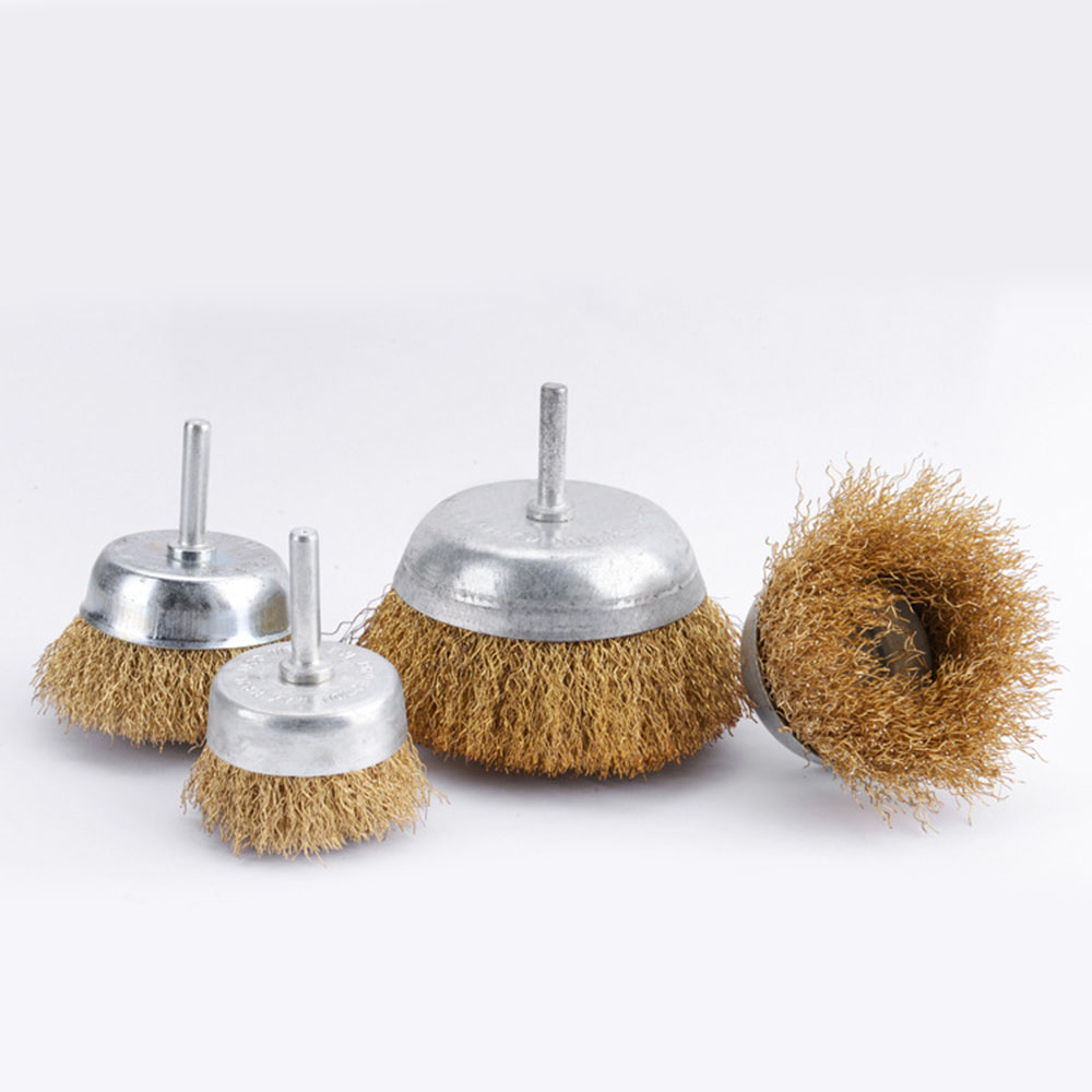 Electric Rotary Grinder Steel Wire Brush Replacement Deburring Grinding Polishing Rust Removal Brush For Pneumatic Mechanics