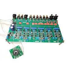 Lusya bp26 preamp circuito placa pcb equilíbrio preamp placa com saída de atraso circuito t0839