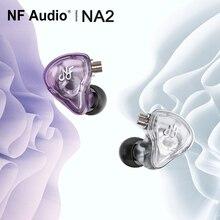 Nf Audio NA2 Dual Holte Dynamische In Ear Monitor Oortelefoon Iem Met 2 Pin 0.78Mm Afneembare Kabel Adaper(6.35 3.5)