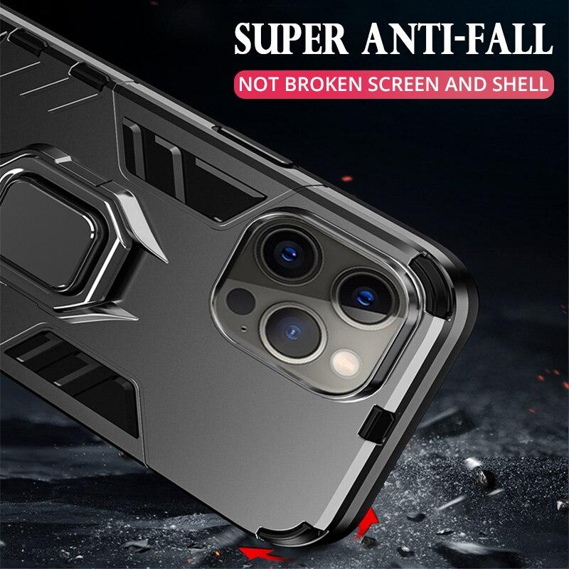 Iron Man Kickstand iPhone Cover for iPhone 12 Mini 11 Pro etc.