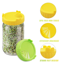 Strainer-Seed Sprout-Cover Germination-Machine-Cover Mason-Jar Garden-Supplies Food-Grade
