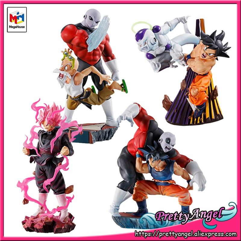 PrettyAngel- Genuine MegaHouse DRACAP RE BIRTH CAPSULE PVC Toy Dragon Ball SUPER Goku-Black Jiren Gokou Freeza Collection Figure 1