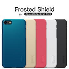 Dla iphone se 2020 Case iphone 8 Funda case NILLKIN matowe PC twarde plastikowe tarcza Back Case dla iphone 7 case tanie tanio CN (pochodzenie) Aneks Skrzynki protective case Apple iphone ów Matowy Zwykły Odporna na brud Anti-knock For iPhone 8 case