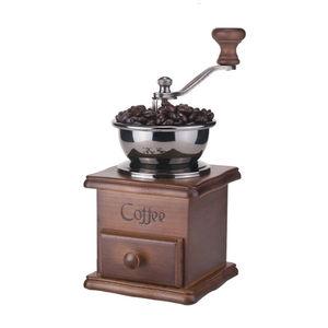 Image 2 - Moulin à café, poivre et épices à main en métal, à manivelle manuelle Vintage, 2020