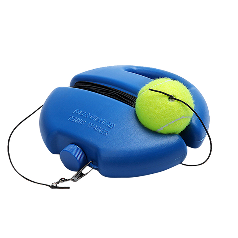 Tennis Practice Trainer Single Self-study Tennis Training Tool Exercise Rebound  Baseboard Sparring Device Tennis Accessorie