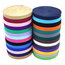 DIY New colourful 10mm chevron cotton Polyester ribbon webbing herring bonebinding tape lace trimming for packing accessories