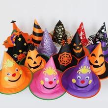 Шляпа на Хеллоуин дети мальчики девочки вечерние шапки реквизит для косплея для выступления Хэллоуин вечерние поставки