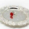 Момиджи Натуральный камень ювелирные кольца для Для женщин 10 мм кольца с настоящими Австрийскими кристаллами опал розового цвета с украшен...