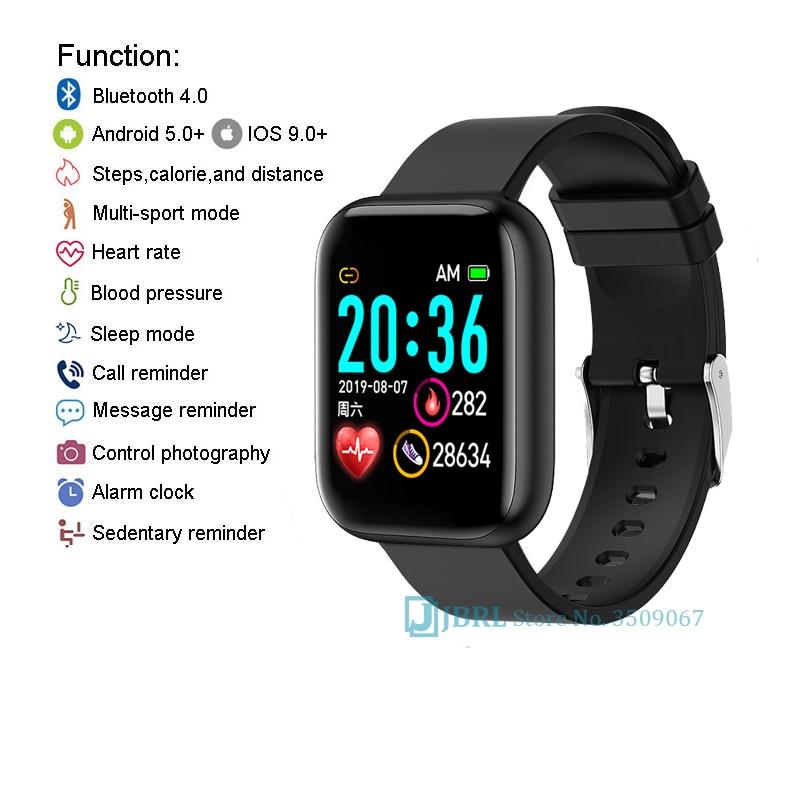 2021 женские спортивные Смарт-часы с браслетом, женские Смарт-часы, мужские Смарт-часы, Android IOS, водонепроницаемый фитнес-трекер, смарт-часы для мужчин 5