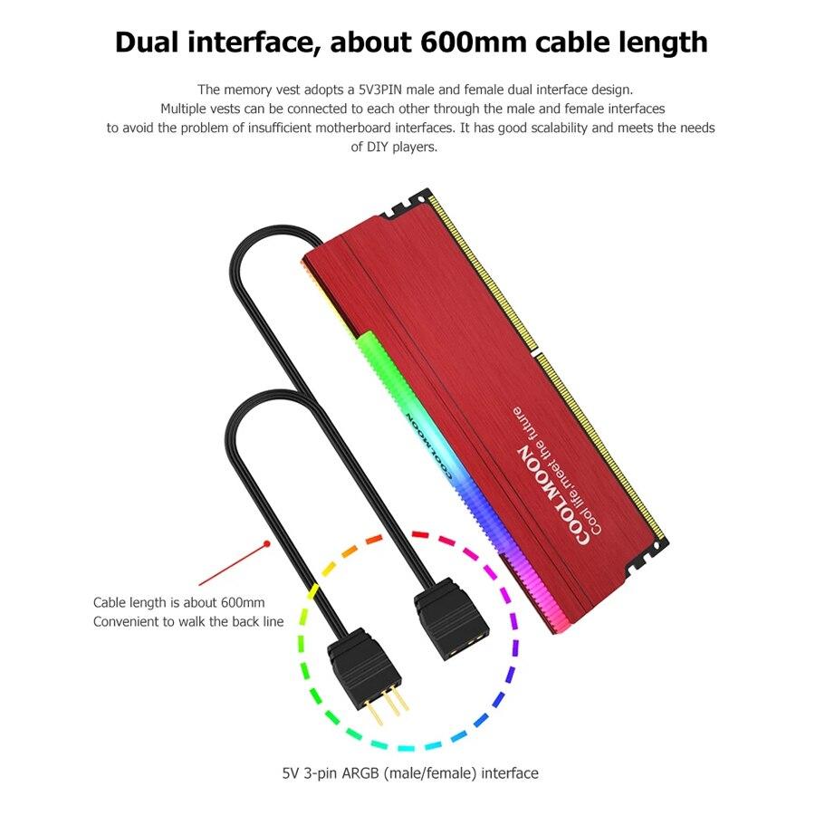 Top SaleKllisre Dimm Memory Heat-Sink 1866 Desktop DDR3 Ddr4 4gb 2133 2666 2400 1600 1333 16GB