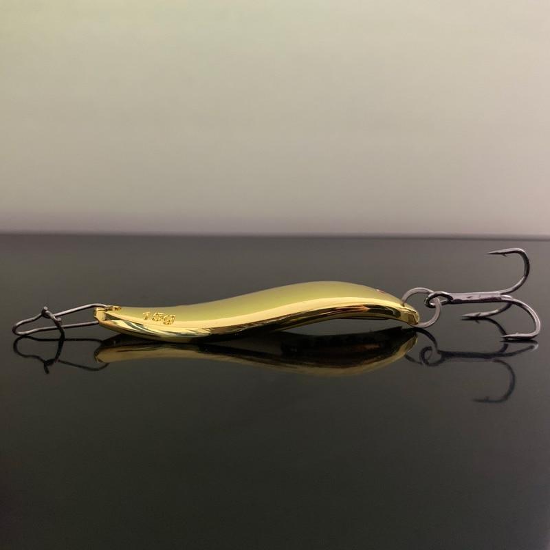 1PCS Metal  Spoon Fishing Lure  3