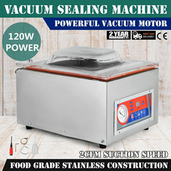 Chamber Vacuum Sealer 110V Vacuum Packing Machine Storage Food Saver for Home and Commercial Use