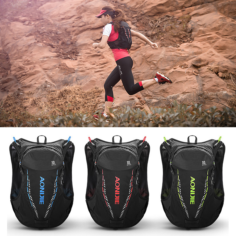 many fashionable 50% off on sale 10L Outdoor Mesh Hydration Vest Backpack Breathable Running Vest ...