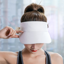 Women Visor Hat Casual Empty Top Adult Baseball Cap UV Protection Adjustable Sunproof Cycling Outdoor Sports Headband Fashion(China)