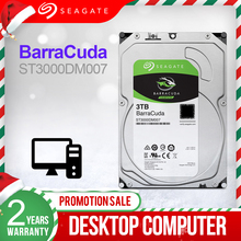 Seagate 3.5 3TB Desktop HDD Interne Festplatte Original 3TB 5400RPM SATA 6 Gb/s Hard stick Für Computer ST3000DM007
