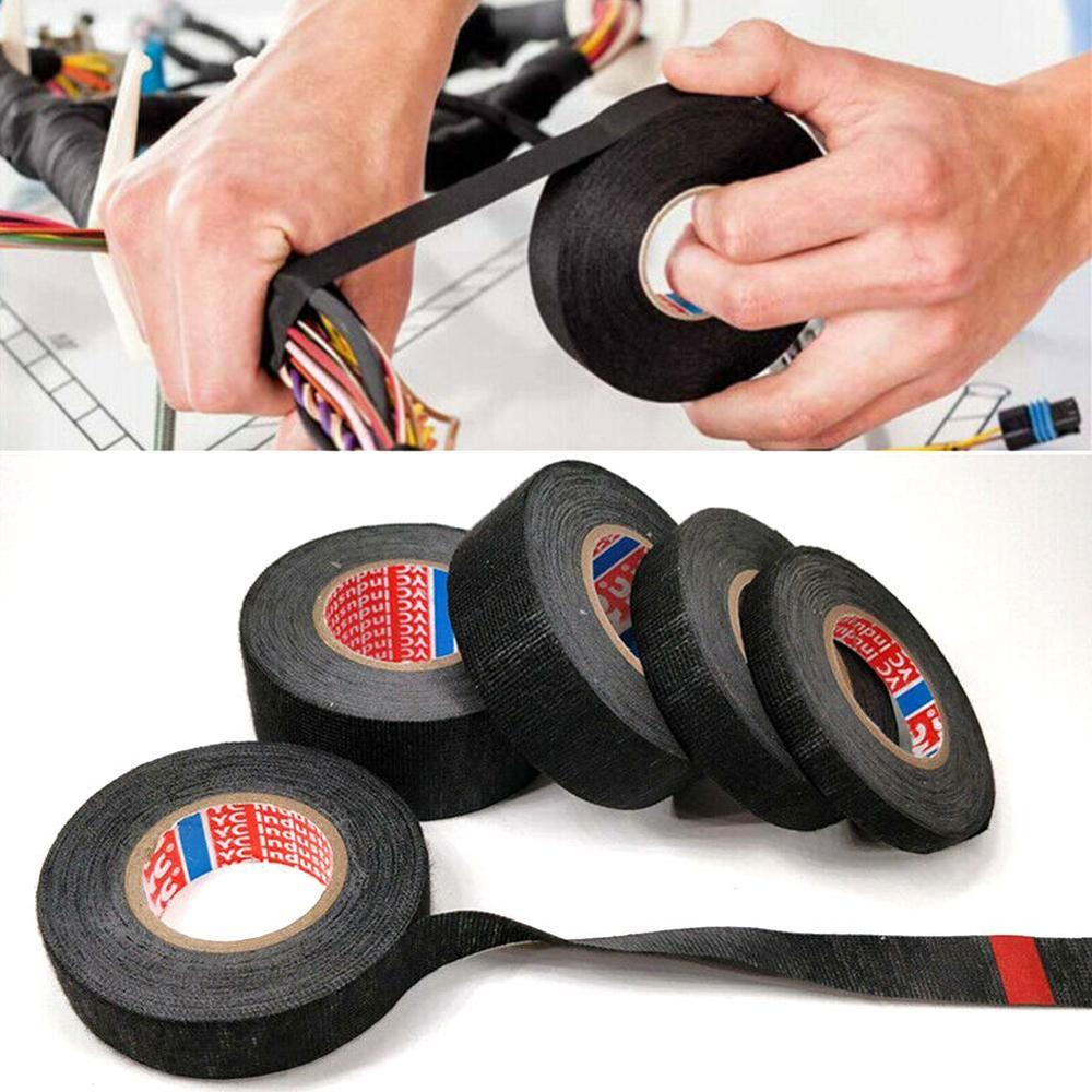 Tesa Coroplast Adhesive Cloth Tape waterdichte tape For Cable Harness Wiring Loom Electrical Tape Anti Rattle Self Adhesive Felt