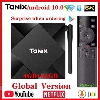 Tanix TX6S rete di Allwinner H616 dual wifi + BT android10.0 mi box HD Wireless youtube TV Top Box fit iptv smart tv