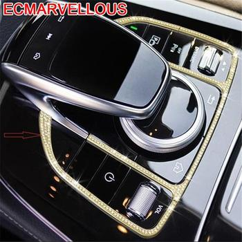 Auto Automobile Decorative Chromium Modified Car Styling Accessory Covers Bright Sequins 16 17 18 FOR Mercedes Benz GLC Class