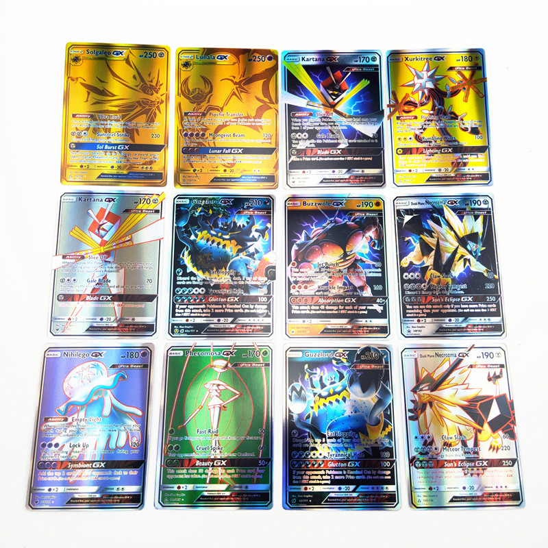 120pcs/set Tag Team Pokemon TAKARA TOMY Battle Toys Hobbies Hobby Collectibles Game Collection Anime Cards for Children