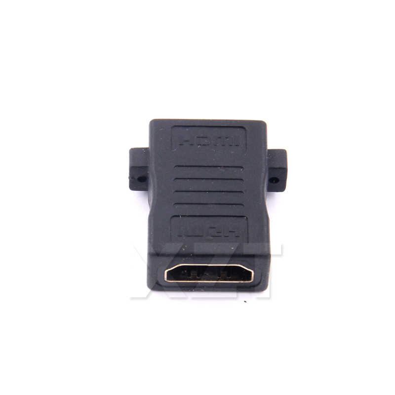 HDMI Adapter żeński do żeńskiego mufa obrotowa złącze 180 stopni Joiner konwerter dla HDTV 1080P Extender kabel HDMI