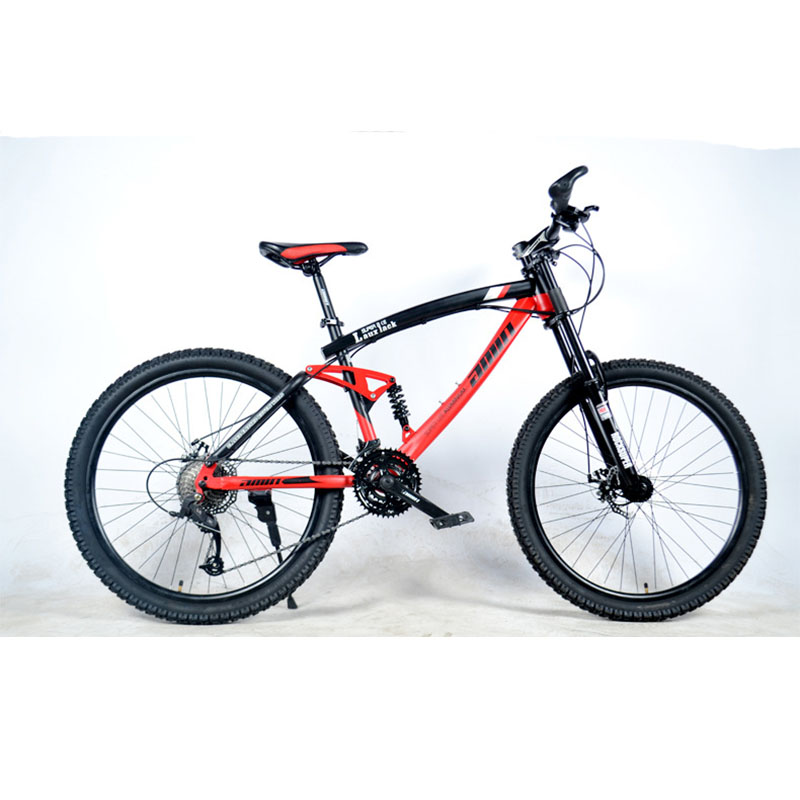 Full Shock Absorption Bicicletas Mountain Bike 29 Road Bike 26 Inches Double Disc Brake High Hardness Frame Sepeda Gunung