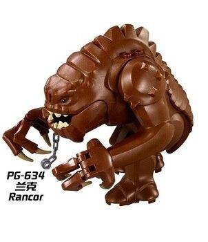 цена на Jabba Rancor Wars Building Block Bricks Action Cartoon DIY Collection Compatible Best Baby Gift Toys