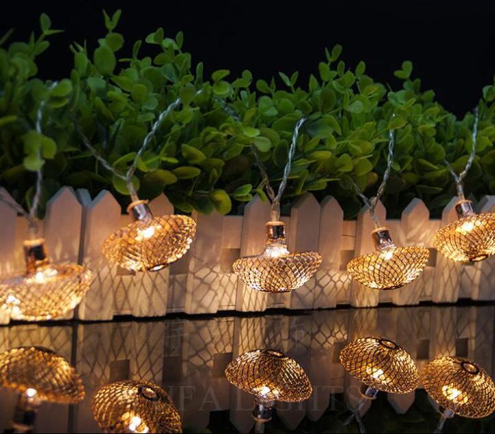 LED New Arrival String Light Decoration Holiday Warm White Light Battery Box Lamp String 2m 20led