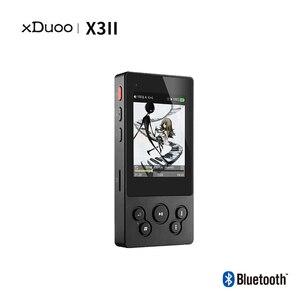 Image 2 - XDuoo X3II X3 ii hi fi lecteur mp3 portable lecteur mp3 bluetooth lecteur de musique sans perte dsd hi res lecteur bluetooth flac wav