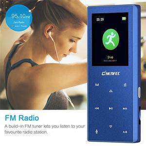Image 5 - Yeni Bluetooth MP3 oyuncu Metal dokunmatik düğme desteği SD kart HIFI kayıpsız MP3 müzik çalar FM radyo, ses kaydedici, e kitap