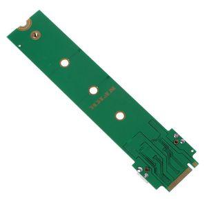Для MacBook Air Pro 12 + 16 контактов SSD для M.2 Key M (NG-FF) PCI-e адаптер конвертер карта для ПК Компьютерные аксессуары