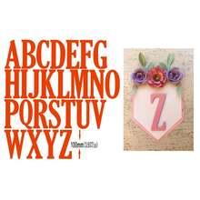26 алфавитных букв металлические режущие штампы Трафаретный