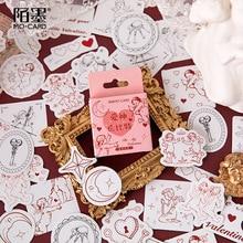 46 шт/любовь Купидон открыть окно милые Каваи планировщик наклейки скрап-игрушка корейская газета юных любителей наклейки красивые