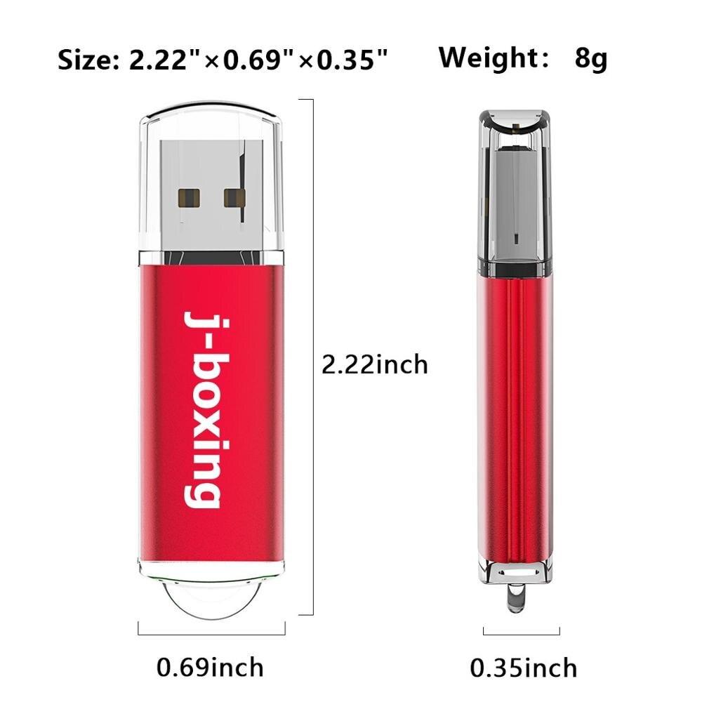 Image 2 - J boxing 512MB USB Flash Drives 10PCS 64MB 128MB 256MB Small Capacity Pendrives Zip Drives for Computer Car USB Data Storage RedUSB Flash Drives   -