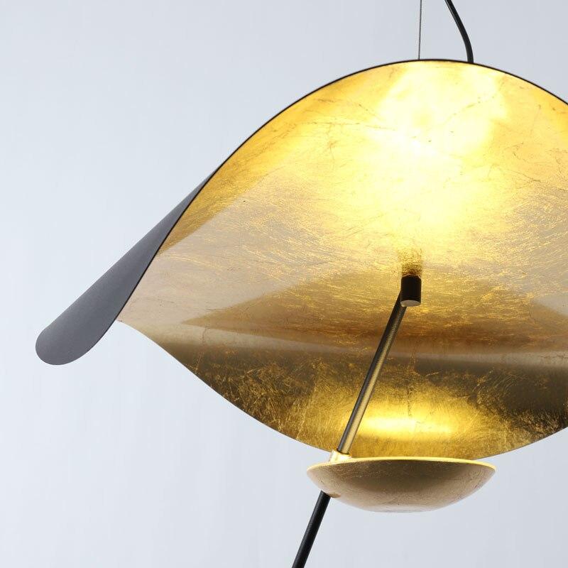 Lámpara colgante de mano de Phube, lámpara colgante moderna de Hotel, lámpara colgante para el salón - 2