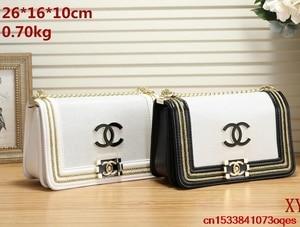 Luxury Designer Brand Chanel- Handbag Shoulder Bags Women Messenger Bag Bolsa Feminina Handbags C26