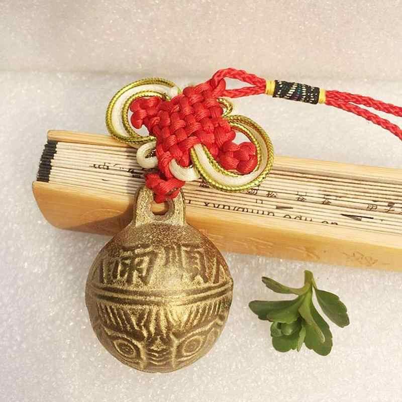 לבחור גודל 13 בציר סגנון טיבטי פליז פעמון זעיר חרוז קרפט דקורטיבי טייגר ראש אתני צמיד הסיני פנג שואי