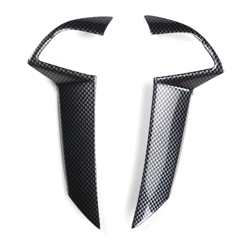 For Honda Accord 8th 2008-2012 Car Steering Wheel Decoration Bezel Cover Trim Stickers Car Mouldings Styling ABS