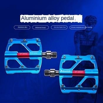 цена на Bike Pedal 3 Bearings Anti-slip Ultralight CNC MTB Mountain Bike Pedal Sealed Bearing Pedals Bicycle Accessories