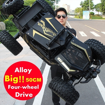 1:12 1:8 4WD RC Car Updated Version 2.4G Radio Control RC Car Toys Oversized High Speed Trucks Off-Road Toys Gift for Children 1 12 4wd rc car updated version 2 4g radio control rc car toys remote control car trucks off road trucks boys toys for children
