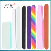 Nail File Manicure Set Buffer Nail Art Tool lime Professional Nail Files 100 180 240 Polisher Sanding Block Sanderpaper for Nail