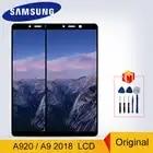 A920 original super amoled para samsung galaxy a9 2018 lcd a920 display toque digitador da tela para a9s a9 estrela pro SM A920F lcd