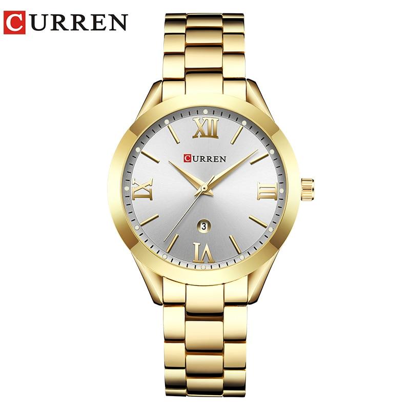 CURREN Gold Watch Women Watches Ladies Creative Steel Women's Bracelet Watches Female Clock Relogio Feminino Montre Femme 10
