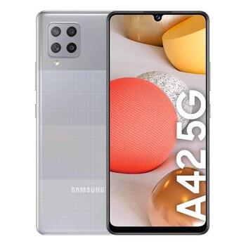 Перейти на Алиэкспресс и купить Samsung Galaxy A42 5G, объемом памяти 4 Гб/128 ГБ серый (примы серого цвета в горошек) Dual SIM A426B